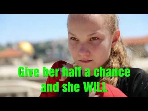 Israeli Krav Maga girl   Yulia Sachkova   Yulia Sachkov training Kickboxing women IDF Israel