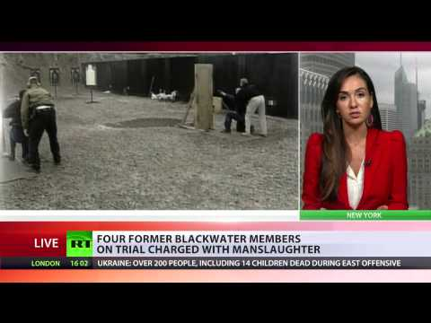 Blackwater Trial: 4 charged with manslaughter in Iraq