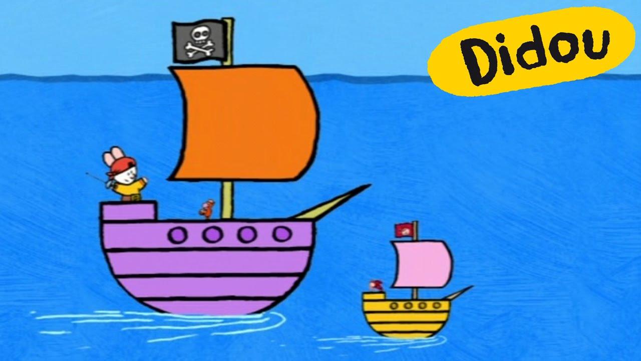 Bateau Pirate Didou Dessine Moi Un Bateau Pirate Dessins Animes Pour Les Enfants Youtube