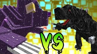 MOBZILLA VS URSA MAJOR VS ARTIC SCORPION | COMBATES MINECRAFT | ORESSPAWN VS MLP