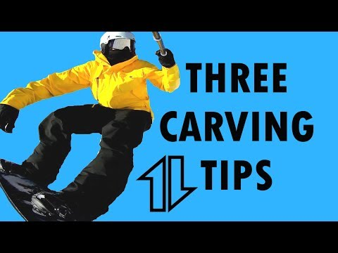 Three Snowboard Carving Tips with Ryan Knapton