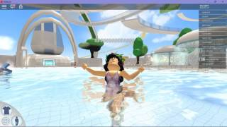 ROBLOX WATERPARK! | Roblox Roleplaying |