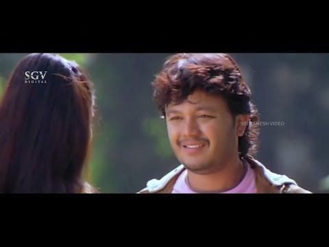 Ganesh Saved Yami Gautam from her family    Ullasa Utsaha Kannada Movie Part-5