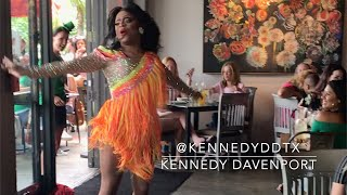 KENNEDY DAVENPORT - Last Dance Donna Summer @ R HOUSE DRAG BRUNCH