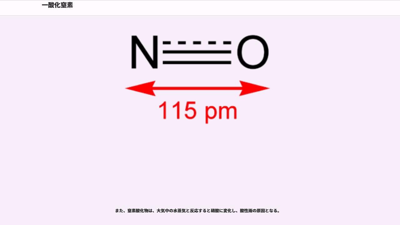 窒素 一 酸化