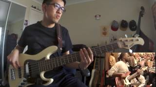 Sharay Reed - Joy to the World (Bass cover) - Daniel Sing