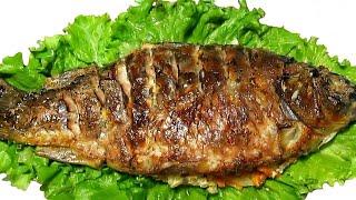 Карп.Запеченный в фольге в Духовке.Блюдо из Рыбы.