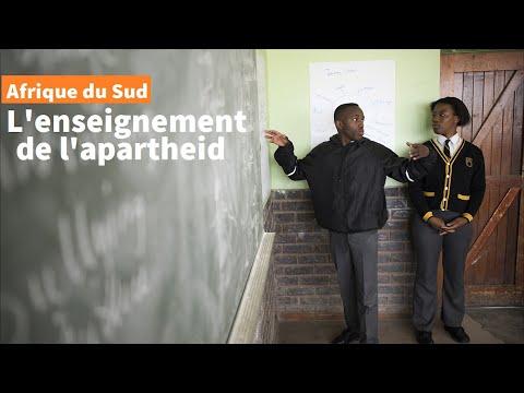 L'Afrique du Sud à l'épreuve de l'enseignement de l'apartheid | AFP Reportage