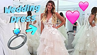 WEDDING DRESS SHOPPING! *WE'RE GETTING MARRIED*