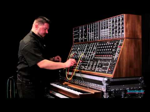 Moog System 55 Modular Synth - Sweetwater Exclusive Preview