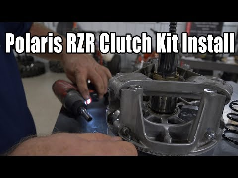 How the Polaris Primary Clutch Works and How SuperATV Makes