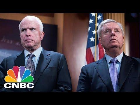 Senators Lindsey Graham, Ron Johnson, Bill Cassidy And John McCain On