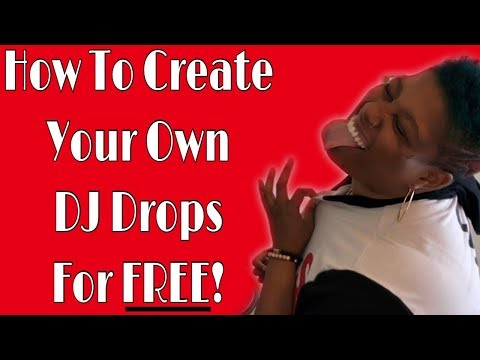 HOW TO CREATE YOUR OWN DJ DROP | DJ TIPS | #LiXxerExperience TV