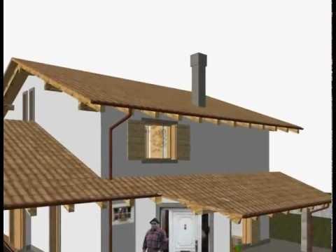 Progetto villetta arch gianpietro gastaldo animazione - Progetto casa 3d gratis ...