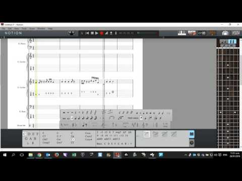 Notion 5: Guitar Chords and Playing