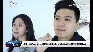 Download Video Rius: Manajemen Garuda Indonesia Buka Diri Untuk Mediasi MP3 3GP MP4