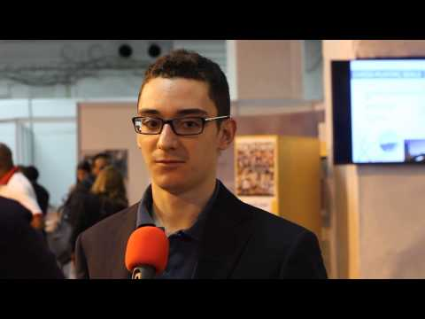 Olympiad Tromsø 2014 - A quick chat with Fabiano Caruana