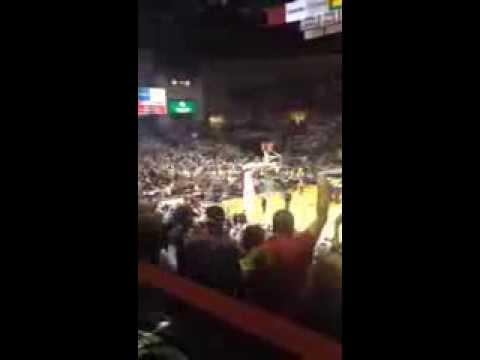 UMass Basketball vs VCU Crowd