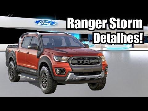 Ford Ranger Storm Diesel 2019 em detalhes - Falando de Carro