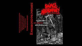 Savage Necromancy (US) - Savage Necromancy (EP) 2019