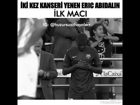 İki Kez Kanseri Yenen Eric Abidalin İlk Maçı ( Her kesi aglatdi )
