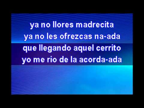 Los Terribles del Norte  Juan Martha HD Karaoke