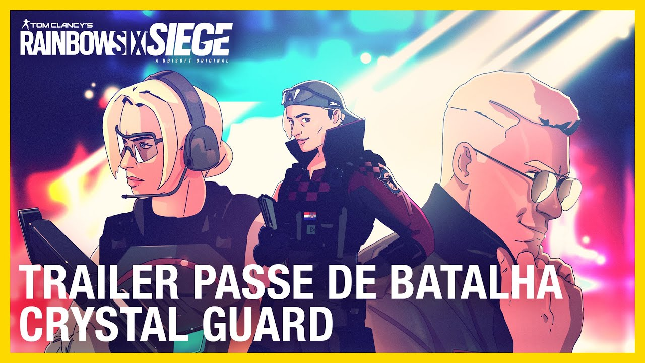 Rainbow Six Siege: Trailer do Passe de Batalha Crystal Guard  | Ubisoft Brasil