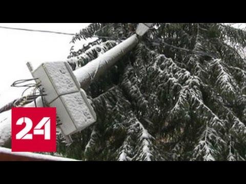 В Калужской и Нижегородской областях без света остаются 25 тысяч человек
