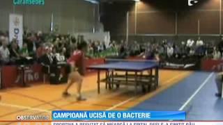 Sportiva Valeria Borza a fost ucisă de o bacterie