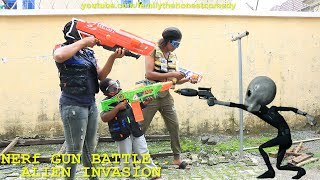 Download Family The Honest Comedy - Nerf Game Comedy: Nerf War : Aliens Invasion attack (Family The Honest Comedy)