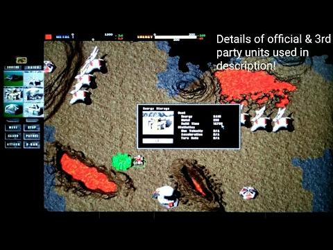 PC Total Annihilation mod G1: intro & 1P gameplay CORE vs ARM, Skirmish on Lava Mania, Orion defense