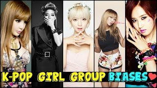 [TOP 30] K-POP Girl Group Members - My #1 Bias List Video