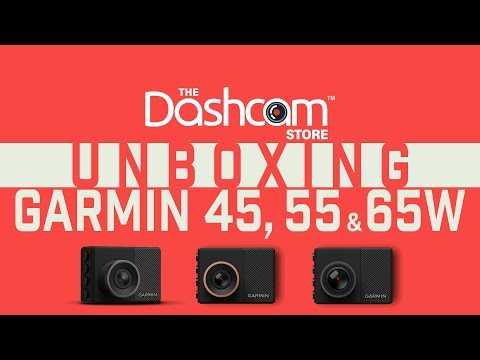 Garmin 45, 55 And 65W Specs & Unboxing By The Dashcam Store™
