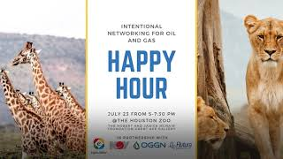 Intentional Networking - Oil & Gas Happy Hour at the Houston Zoo on July 23