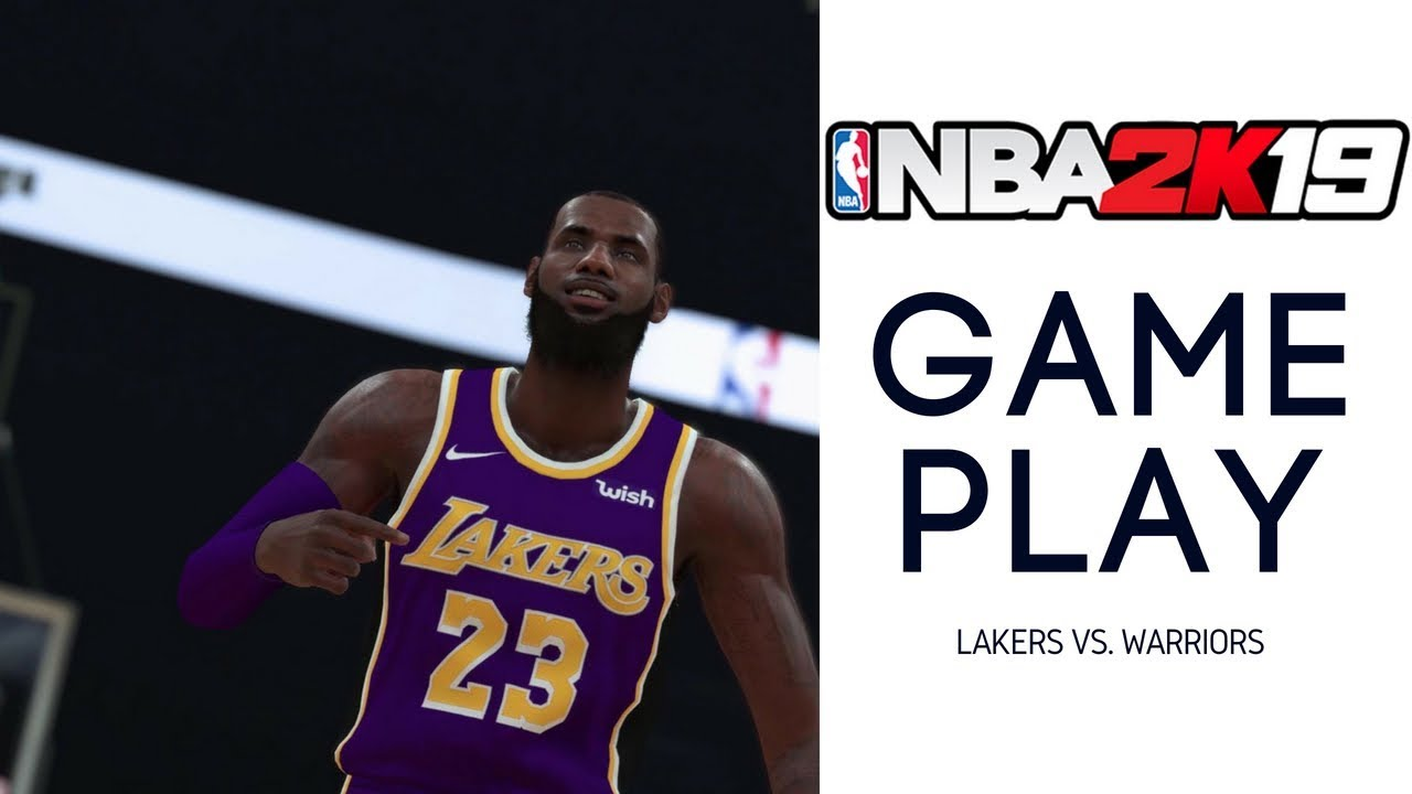 caff5082cf24 NBA 2K19 Gameplay