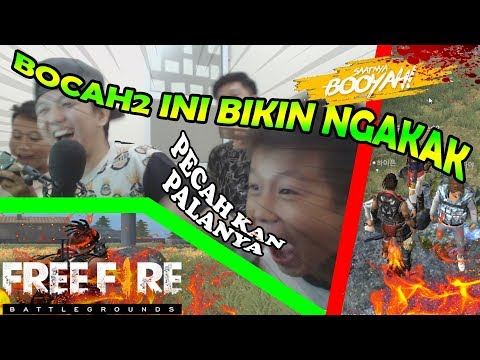 MAIN AMA BOCIL BIKIN NGAKAK PARAH - GARENA FREE FIRE