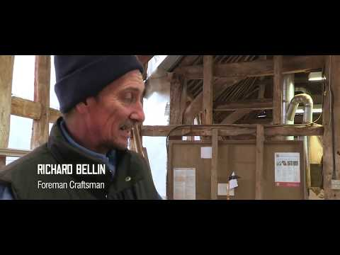 The Building of the Sam Wanamaker Playhouse - Part 1: McCurdy's Timber Yard, March 2013