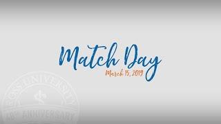 Match Day 2019 - Ross University School of Medicine