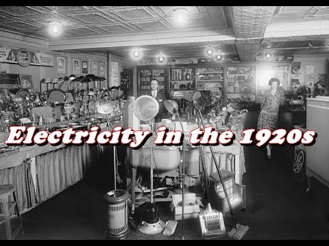 History Brief: Electricity And Its Impact In The 1920s