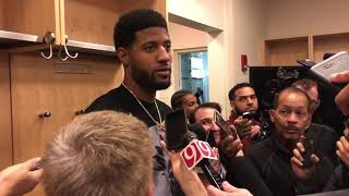 Thunder vs Knicks: Paul George