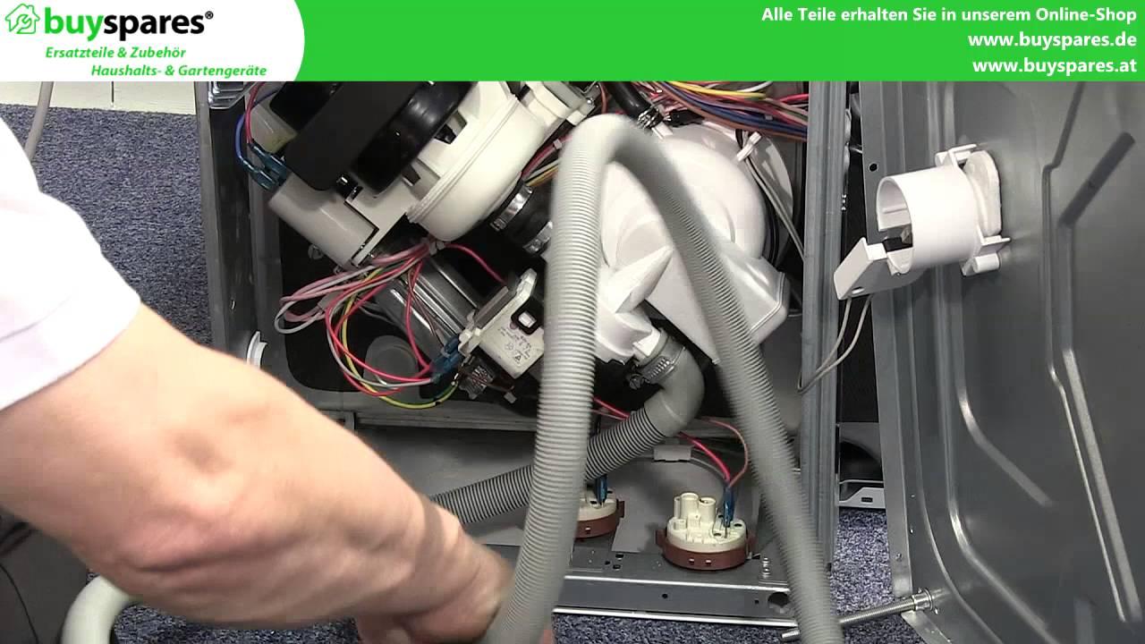 Aeg Kühlschrank Wasserfilter Wechseln Anleitung : Anleitung spülmaschinen ablaufschlauch auswechseln youtube