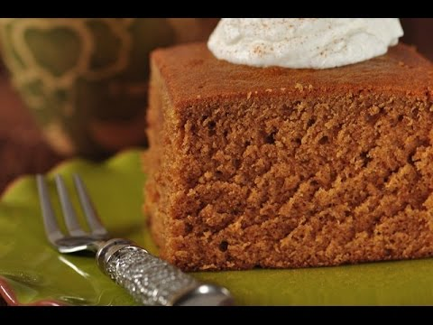 Gingerbread Cake Recipe Demonstration - Joyofbaking.com