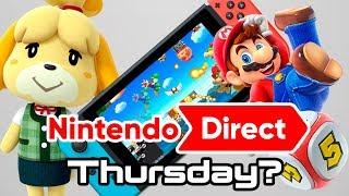 Nintendo Direct September 13 2018 Predictions!