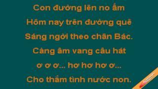 Giữa Mạc Tư Khoa Nghe Câu Hò Ví Dặm Karaoke Ngọc Sơn CaoCuongPro