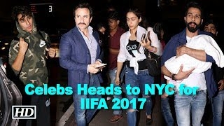 Saif With Sara And Ibrahim Heads To New York For Iifa 2017