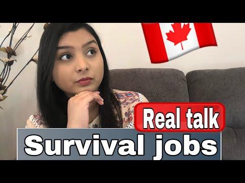 Top 7 Survival Jobs In Canada | Real Talk