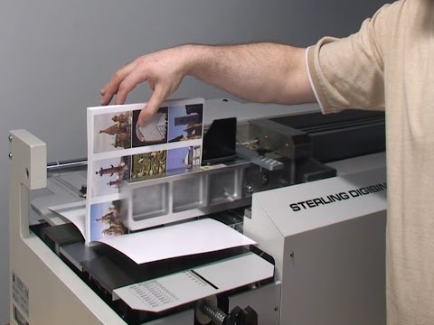 The Digibinder Automatic Perfect Binder 90 Second Movie