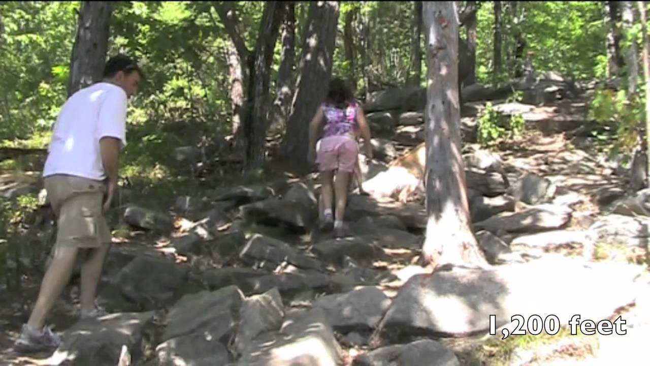 Mount Major - Hiking the Orange Trail or Boulder Loop - YouTube