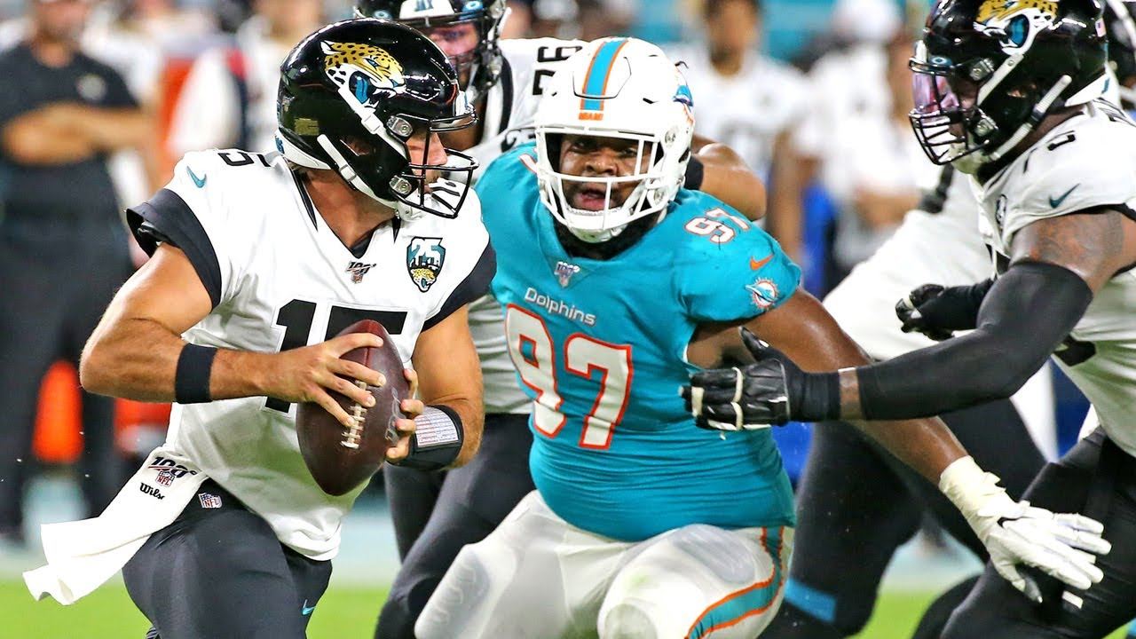 Dolphins coach Brian Flores explains how to prepare for Jags in a short week