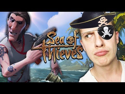 Die VIER Piraten stechen in See | Sea of Thieves (Deutsch Gameplay)